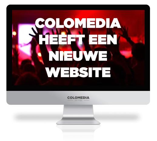 ColoMedia heeft een nieuwe website